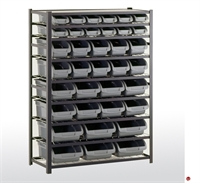 "Picture of 36 Compartment Storage Bin Shelving, 44"" x 16"" x 57""H"