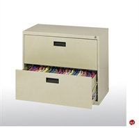 "Picture of 400 Series 2 Drawer Lateral File Metal Cabinet, 30"" x 18"" x 27.25"""