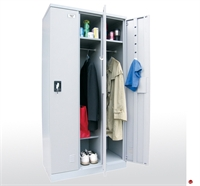 "Picture of Boltless Steel Full Length Storage Cabinet Locker, 36"" x 18"" x 72"""