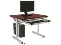"Picture of Sperco 24"" x 30"" Computer Training Table"