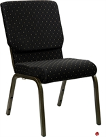 "Picture of 21"" Extra Wide Armless Stack Chair"