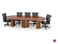 Picture of TRIA 14' Veneer Racetrack Oval Conference Table