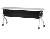 "Picture of TRIA 20"" x 72"" Mobile Nesting Training Table, Modesty Panel"