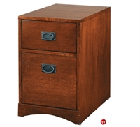 Picture of Veneer Mobile Two Drawer File Cabinet