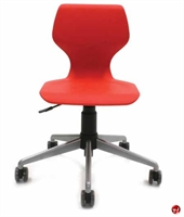 Picture of Vanerum Airley Poly Shell Armless Swivel Chair