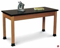 """Picture of Vanerum Catalyst,  54"""" x 24"""" Work Desk Table, ADA Compliant"""