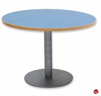 """Picture of Vanerum Ellipes, 48"""" Round Cafeteria Dining Conference Table"""