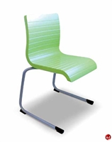 Picture of Vanerum Flow Armless Poly C Frame Stack Chair