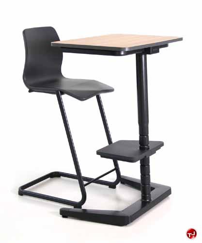 computer or design furniture impressive desks crank height motorized ergonomic on desk with