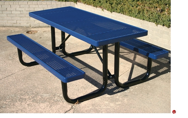 The Office Leader Webcoat UltraLeisure TUL Outdoor Metal - Office picnic table