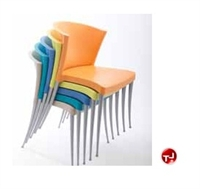 Picture of Westinnielsen Azuza Guest Side Armless Plastic Stack Chair