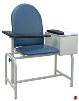 Picture of Winco 2572 Phlebotomy Blood Drawing Chair with Drawer