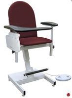 Picture of Winco 2588 Phlebotomy Blood Drawing Chair