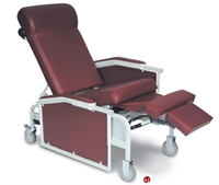 Picture of Winco 5271 Convalescent Mobile Medical Recliner, Drop Arm