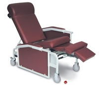 Picture of Winco 5281 Convalescent Mobile Medical Recliner, Drop Arm