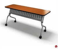 "Picture of 18"" X 48"" Mobile Flip Nesting Training Table"