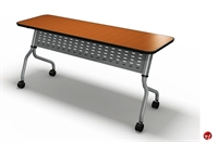 "Picture of 18"" X 72"" Mobile Flip Nesting Training Table"