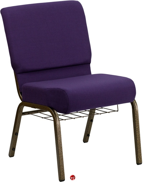 the office leader brato armless church chair with book rack