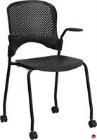 Picture of Brato Guest Side Reception Stack Mobile Plastic Chair