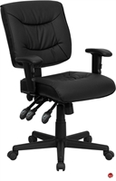 Picture of Brato Mid Back Leather Multi Function Chair