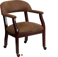 Picture of Brato Traditional Guest Side Mobile Reception Chair