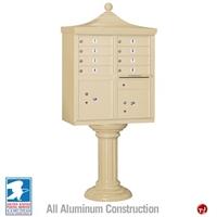 Picture of BREW Aluminum Mailbox Cluster Box, 8 Doors