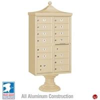 Picture of BREW Aluminum Mailbox Cluster Box, 13 Doors