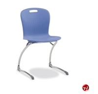 Picture of AILE Armless Poly School Guest Chair