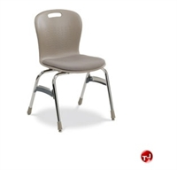 Picture of AILE Padded Armless Poly School Chair