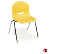 Picture of ACE Poly Armless Stack Classroom Chair