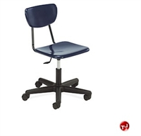 Picture of AILE Armless Poly Swivel Task Chair