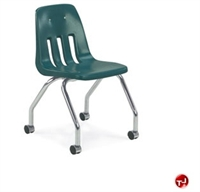 Picture of AILE Armless Poly Mobile Classroom Chair