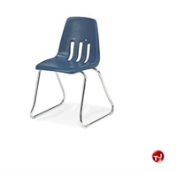 Picture of AILE Armless Poly Sled Base School Stack Chair