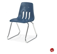 Picture of AILE Armless Plastic Shell Sled Base School Stack Chair