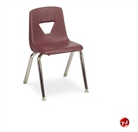 Picture of AILE Armless Poly Shell Stack School Chair