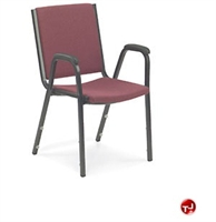 Picture of AILE Guest Side Stack Chair with Arms
