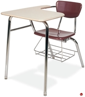 Picture of AILE Classroom Chair Desk Combo, Bookrack