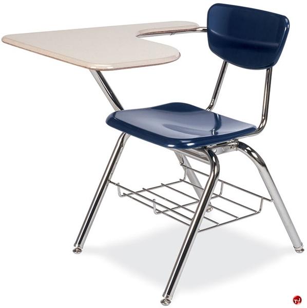the office leader aile classroom chair desk combo tablet arm bookrack. Black Bedroom Furniture Sets. Home Design Ideas