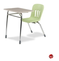 Picture of AILE Classroom Chair Desk Combo, Hard Plastic Top