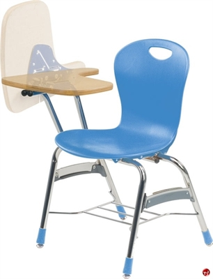 Picture of AILE Classrooom Articulationg Tablet Arm Chair, Bookrack