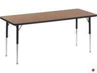 "Picture of AILE 24"" x 72"" Height Adjustable Activity Table"