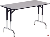 """Picture of AILE 24"""" x 48"""" Height Adjustable Multi Purpose Table"""