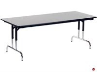 """Picture of AILE 36"""" x 72"""" Height Adjustable Multi Purpose Student Desk"""