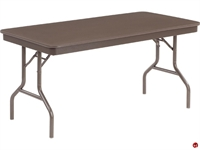 "Picture of AILE 30"" x 60"" Lightweight Folding Table"