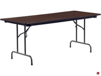 "Picture of AILE 30"" x 96"" Plywood Folding Table"