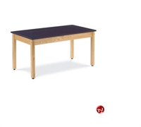 "Picture of AILE 30"" x 60"" Epoxy Top Multi Purpose Table"