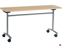 """Picture of AILE 20"""" x 72"""" Tilt Top Mobile Training Table"""