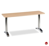 "Picture of AIL 24"" x 96"" Training Table, Aluminum Legs"