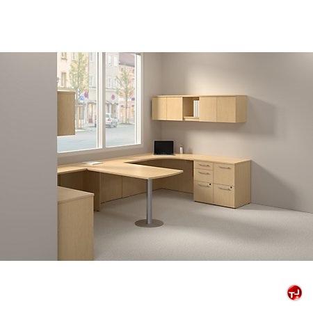 The Office Leader Ades 2 Person U Shape Desk Workstation