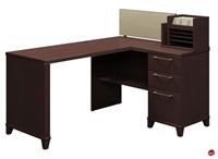 """Picture of Bush Enterprise 2999, 60"""" L Shape Computer Desk Workstation"""